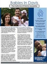 California ivf infertility newsletter for sacramento infertility patients and referring doctors